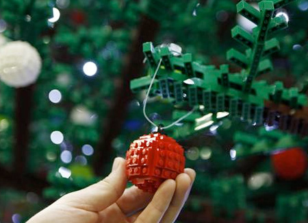LEGO Christmas Ornament