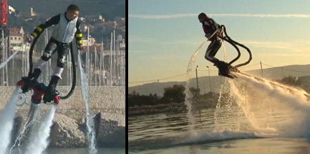 Water Powered Flyboard