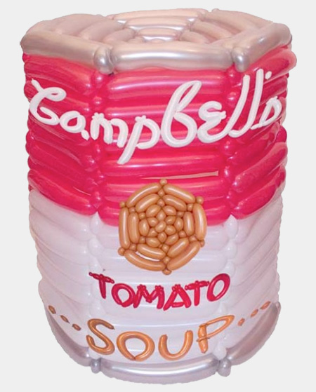 Balloon Campbells Soup Can
