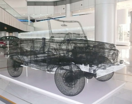 Steel Wire Car
