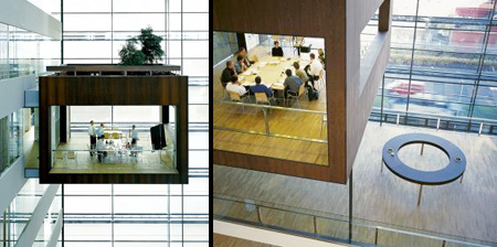 Suspended Meeting Rooms
