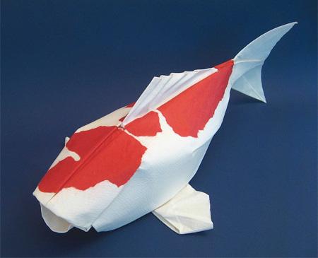 Paper Koi Fish