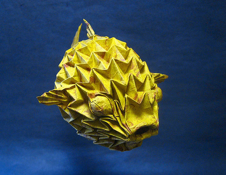 Paper Puffer Fish