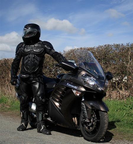 Dark Knight Motorcycle Suit