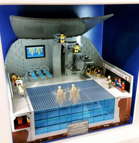 LEGO London 2012 Aquatic Centre