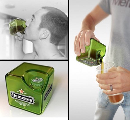 Heineken Cube Bottle