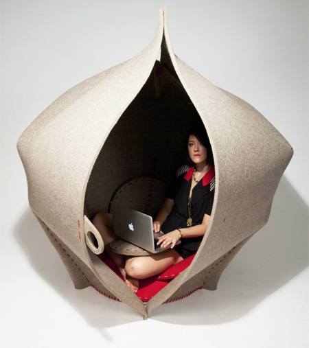 HUSH Sleeping Chair