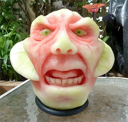 Watermelon Carvings