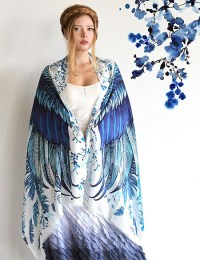 Bird Scarves with Wings