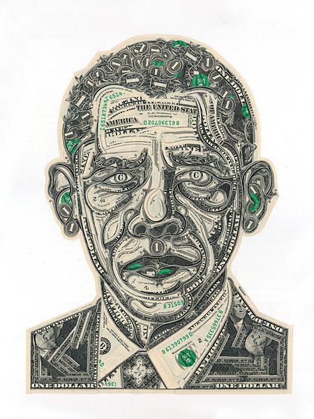 Money Art By Mark Wagner
