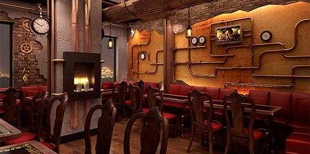 Steampunk Restaurant