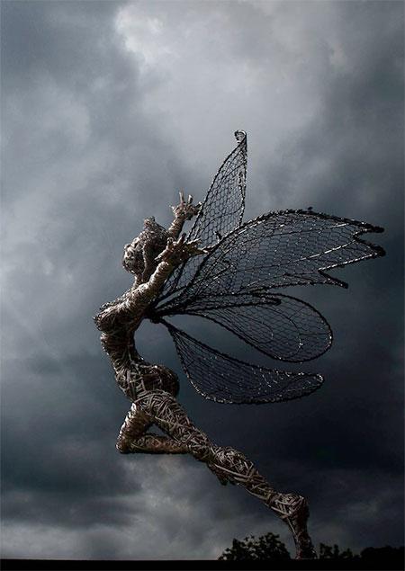 Fantasy Wire Sculptures