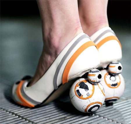 Star Wars BB8 Shoes