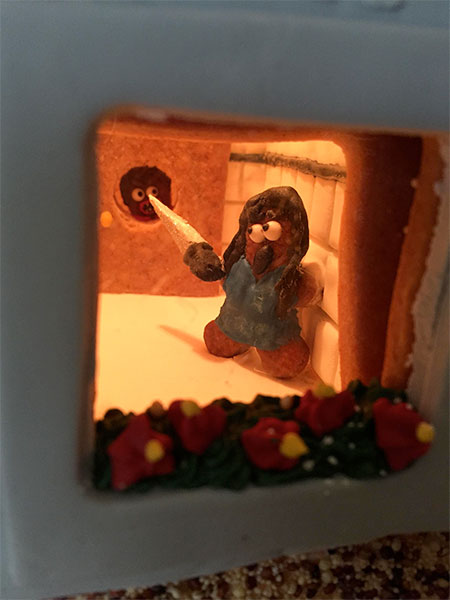 The Shining Gingerbread House