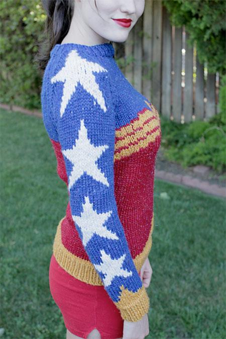 Wonder Woman Sweater