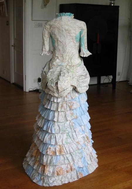 Dresses Made Of Maps