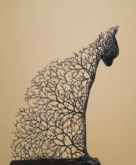Wire Tree Animals