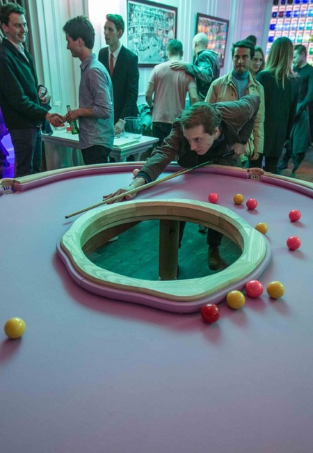 Donut Pool Table