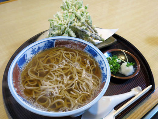 東京亭 清水店 本格蕎麦と揚げたて春野菜天麩羅