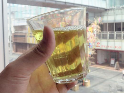 茶fe 茶LaLa フェリオ店 香り高い抹茶ソフトと緑茶