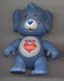 STA Care Bears Action Figures Loyal Heart Dog
