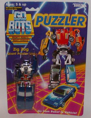 STA Gobots Puzzler Combiner Figures