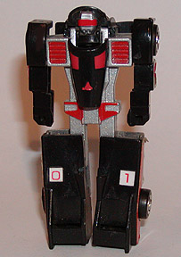 STA Gobots MR20 Crasher Black