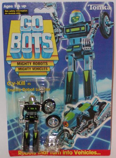 STA Gobots MR01 CyKill Green