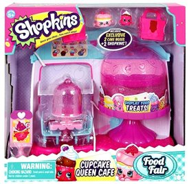 Top Rated Shopkins Season 4 Playsets - Shopkins Cupcake Queen Cafe Playset