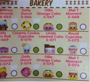 season 5 bakery shopkins collectors guide