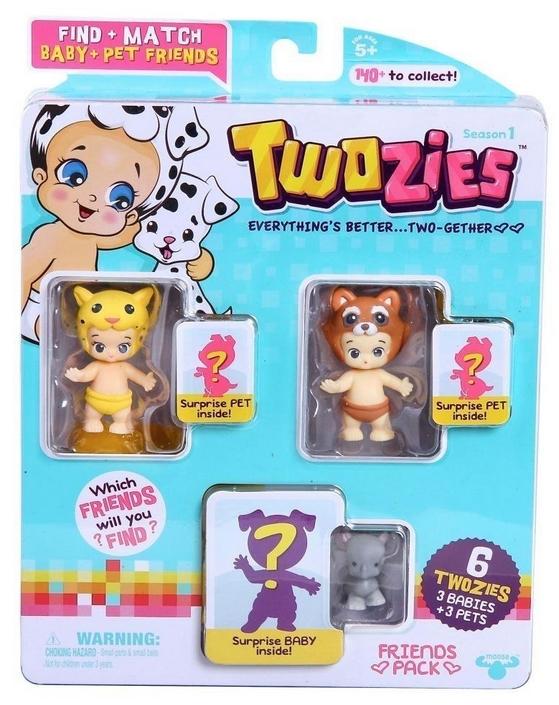 Twosies Season 1 Friends Pack