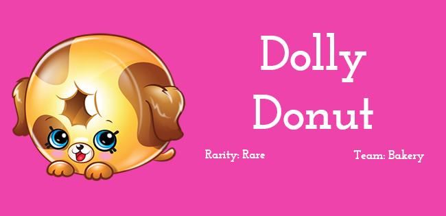 Shopkins Season 5 Character Dolly Donut