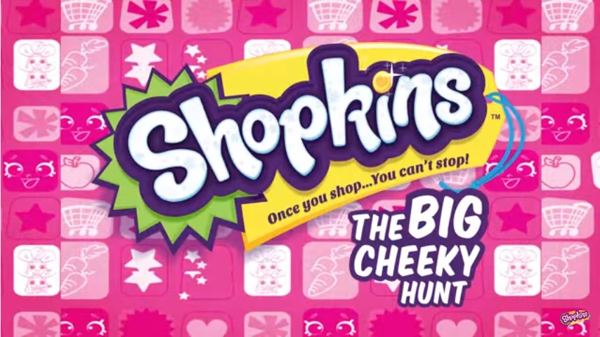 Shopkins Cartoon Episode 12 The Big Cheeky Hunt