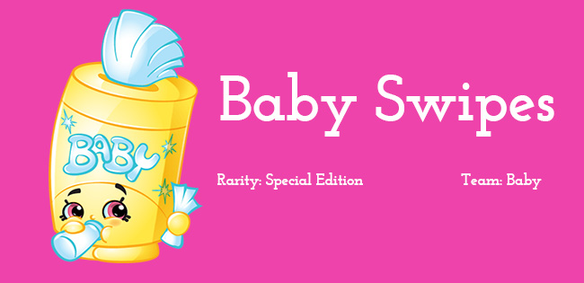 Shopkins Season 2 Character Baby Swipes