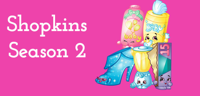 Season 2 Shopkins Characters