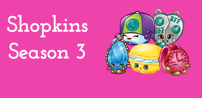 Season 3 Shopkins Characters