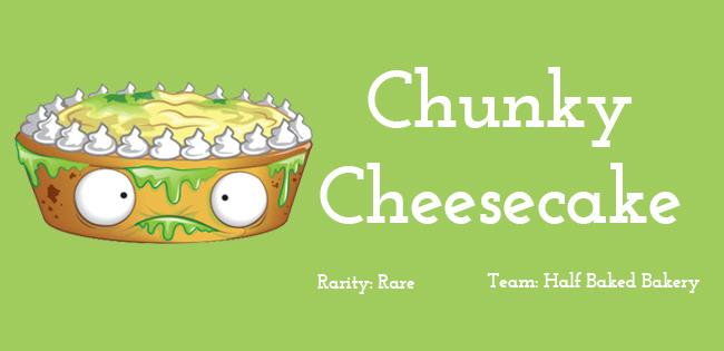 Chunky Cheesecake