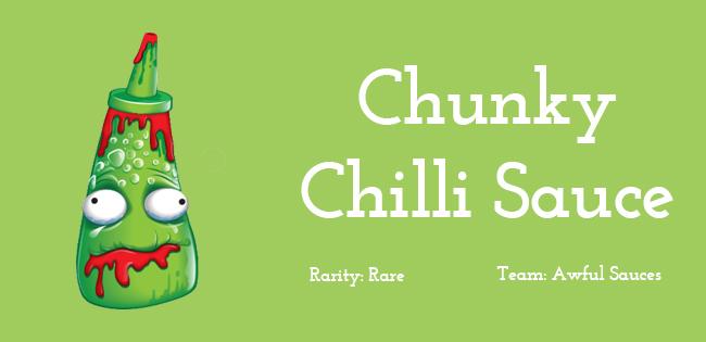 Chunky Chili Sauce