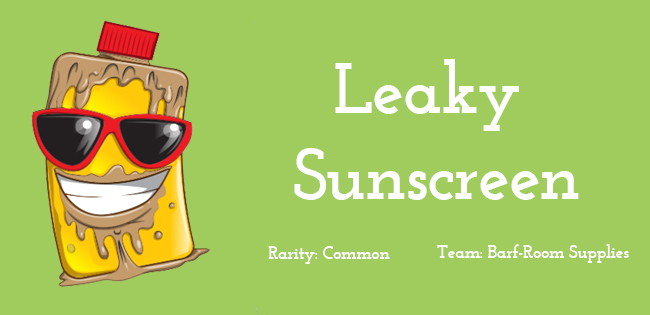 Leaky Sunscreen