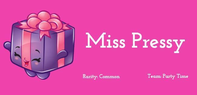 Miss Pressy