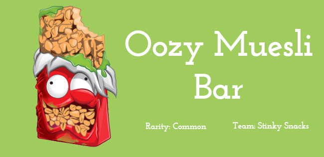 Oozy Muesli Bar