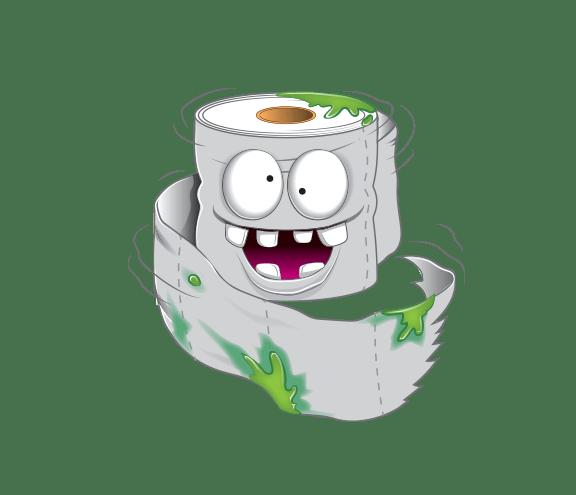 Rough Toilet Paper