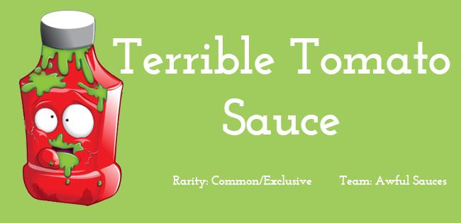 Terrible Tomato Sauce