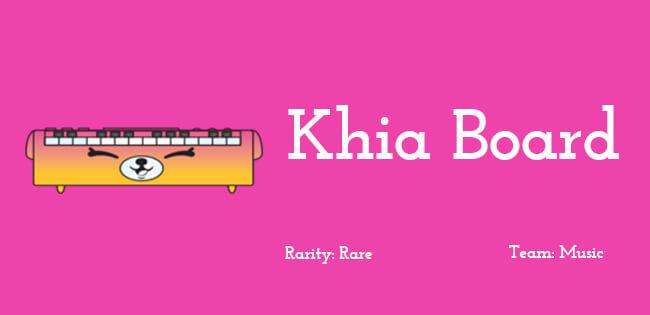 Khia Board