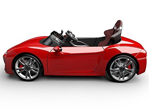 Kids Electric Sports Car Henes Broon F830 Red
