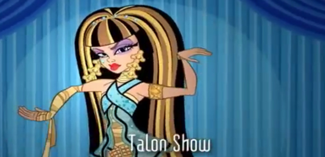 Monster High: Season 1 Episode 2 – Talon Show