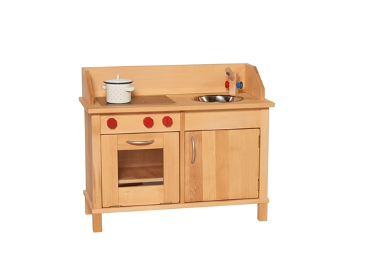 solid wood toy kitchen frigidaire appliances estate play in picture of
