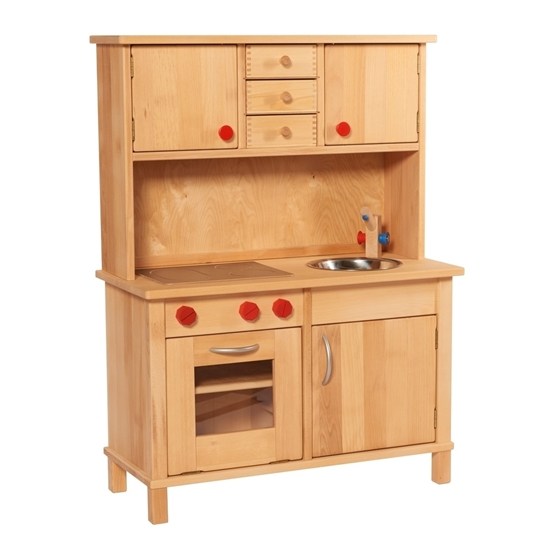 solid wood toy kitchen american standard silhouette sink estate play in with cabinets picture of