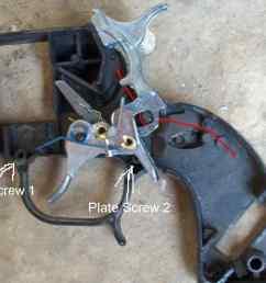 shotgun trigger mechanism diagram [ 1200 x 891 Pixel ]