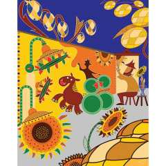 Art Wallet - Beerflowers Postcard - Toyism Art Movement